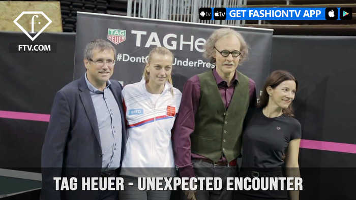 Petra Kvitova for TAG Heuer in An Unexpected Encounter on Tennis Court | FashionTV | FTV