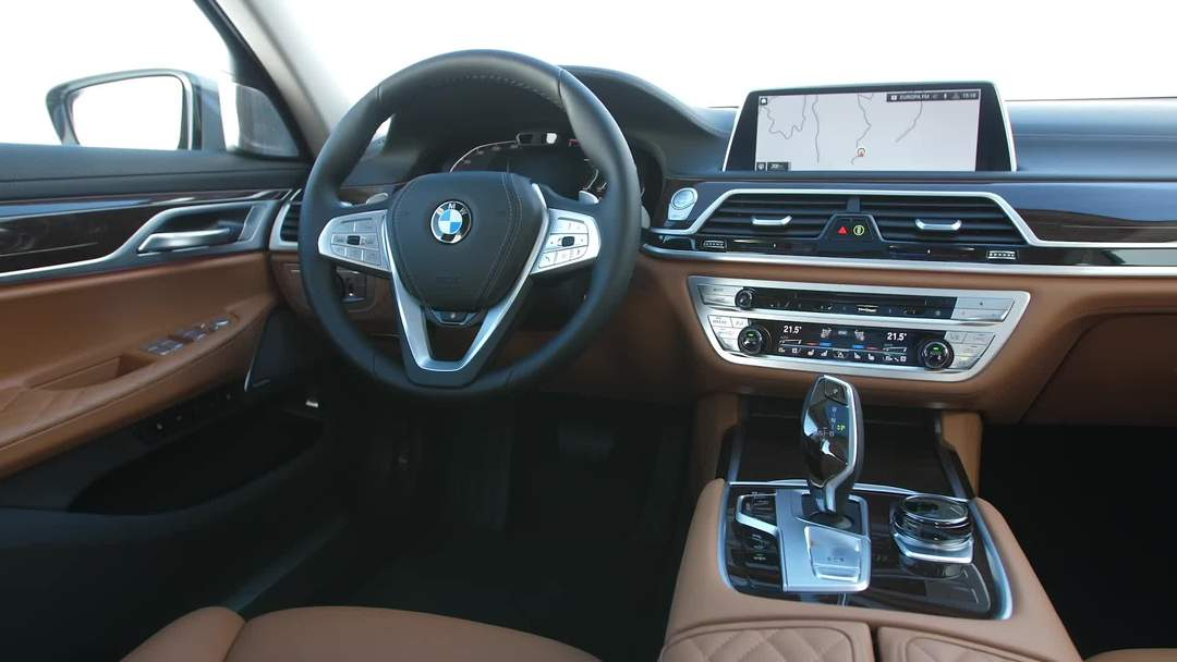 The New Bmw 7 Series Interior Design One News Page Video