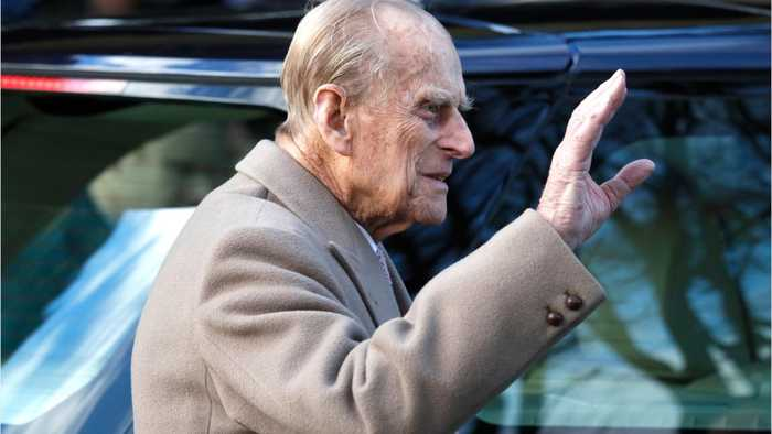 Prince Philip Uninjured After Recent Car Accident