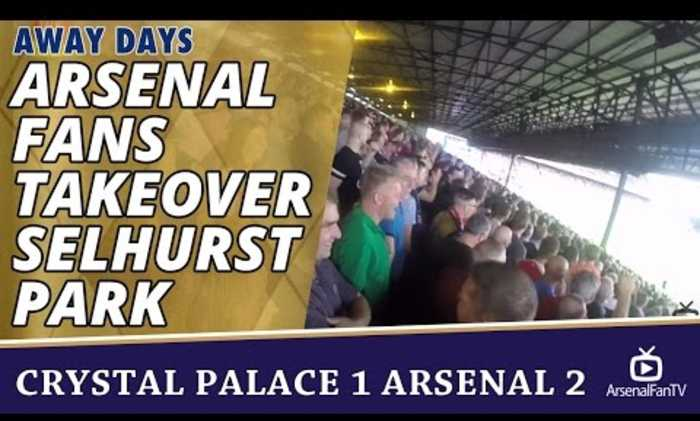 Arsenal Fans Takeover Selhurst Park | Gooners Away