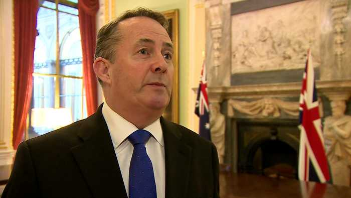 Liam Fox signs first 'pipeline' post-Brexit trade deal