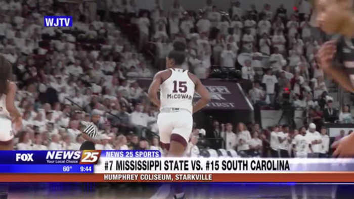 NCAA Women's Basketball: Mississippi State vs. South Carolina