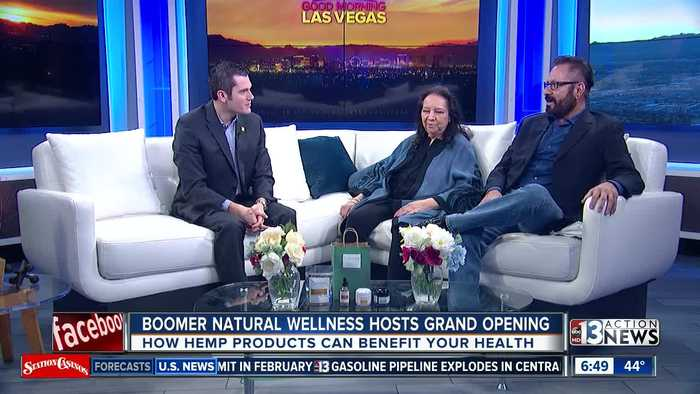 Boomer Natural Wellness talks benefits of hemp