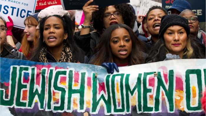 Women March Throughout U.S. For Third Straight Year