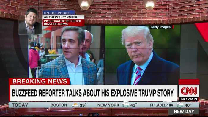 Buzzfeed reporter claims to have seen the documents on Trump
