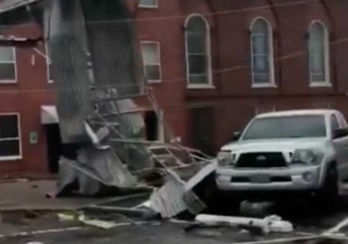 Tornado Rips Through Wetumpka, Causes Extensive Damage