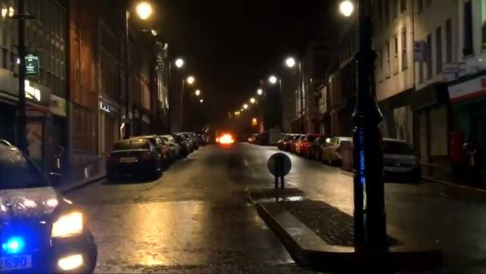 Northern Irish police report suspected car bomb