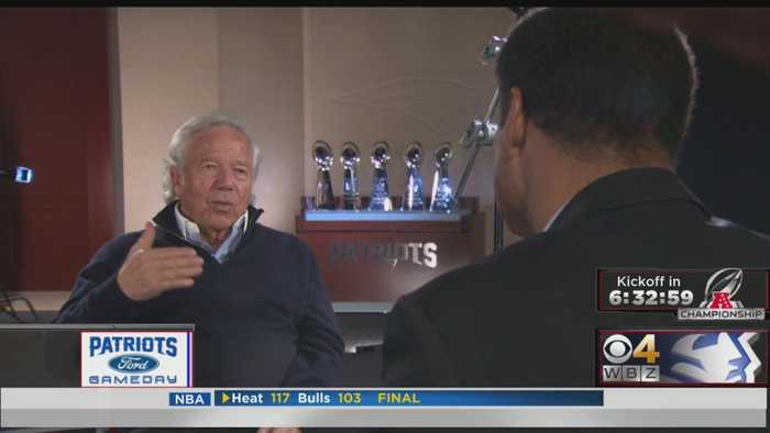 Robert Kraft Reflects On His 25 Years Of Owning New England Patriots
