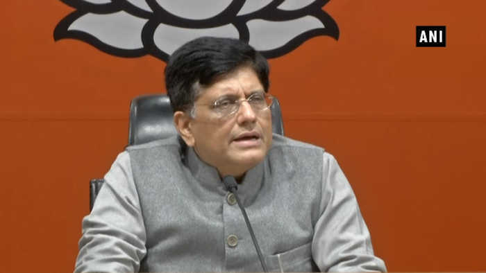 Mamata Banerjee is scared as she sees BJP's increasing dominance in state: Piyush Goyal