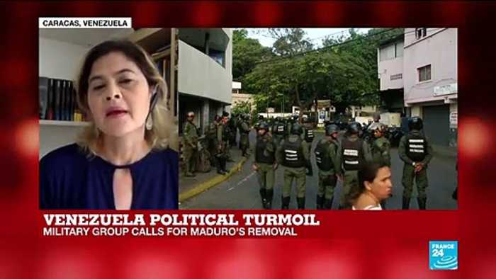 Venezuela: military group calls for Maduro's removal