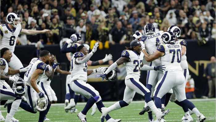 Rams Defeat Saints in NFC Championship