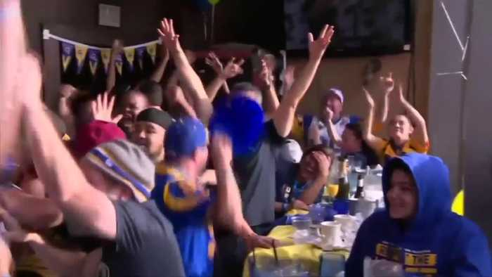 Fans react to Rams winning a Super Bowl spot