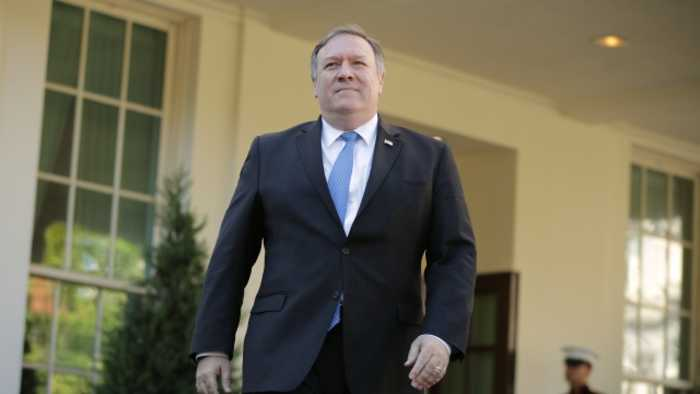 Pompeo Might Be Considering a Bid for Senate