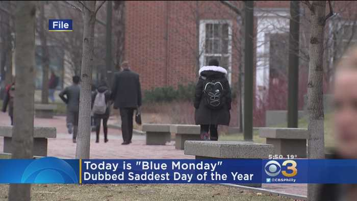 Third Monday In January Dubbed 'Blue Monday'
