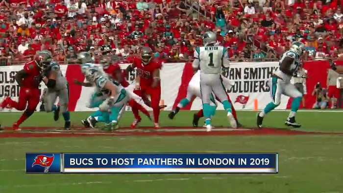 Tampa Bay Buccaneers to play Carolina Panthers in London in 2019