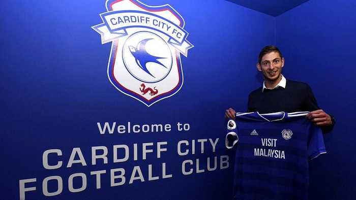 Emiliano Sala: fears Cardiff City's new signing was on plane that disappeared over English Channel