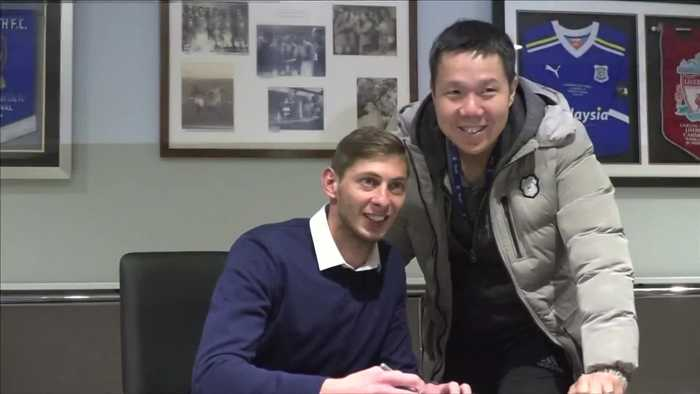 Cardiff City release video of missing player Sala