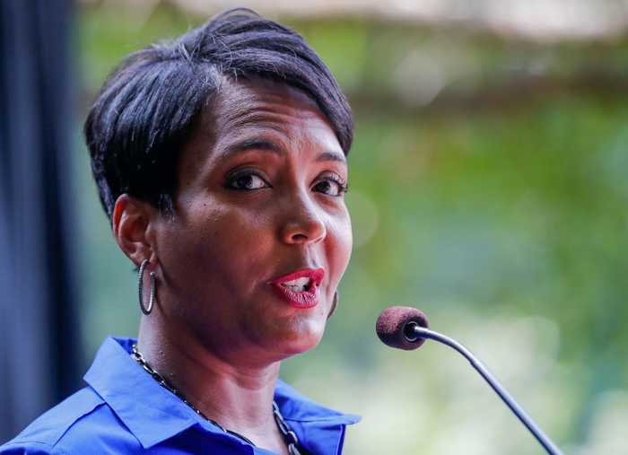 Atlanta Mayor Keisha Lance Bottoms Worries Shutdown Could Impact Super Bowl Travel