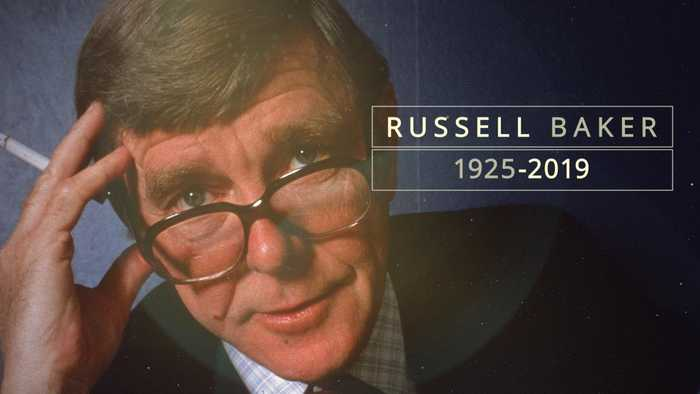 Russell Baker, Author and New York Times Columnist, Is Dead at 93