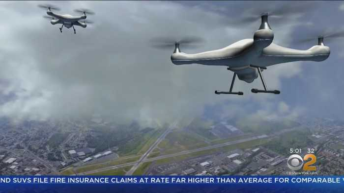 Drone Scares At Newark Airport