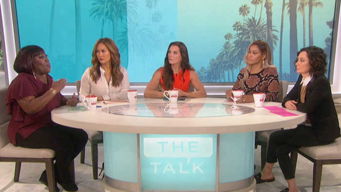 The Talk - Brooke Shields and Sheryl Underwood on Family in Long Term Care Facilities