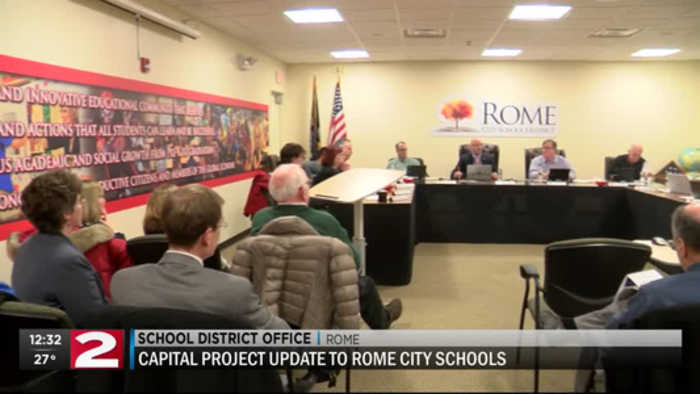 Planning continues for Rome City School District's capital project