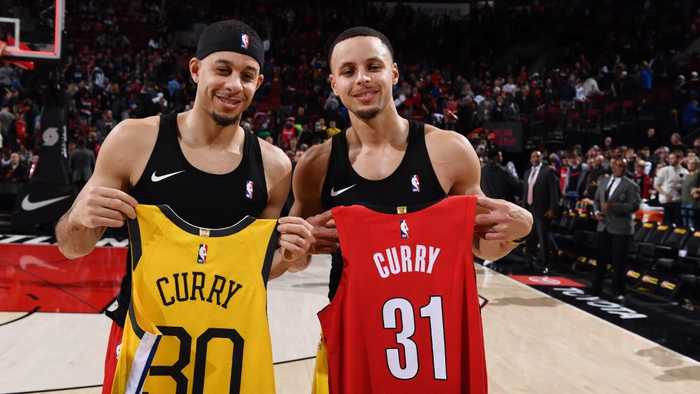 Steph Curry to Compete Against Brother Seth in All-Star Three-Point Shooting Contest