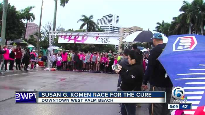 Susan G. Komen Race for the Cure held in West Palm Beach