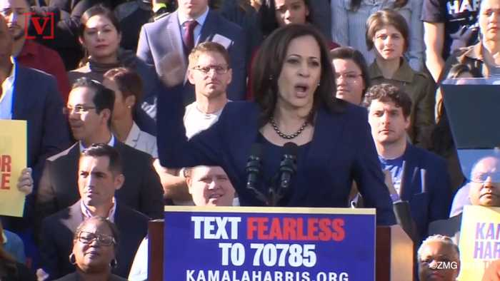 Report: Kamala Harris Could Be Generating More Early Buzz Than Former President Obama