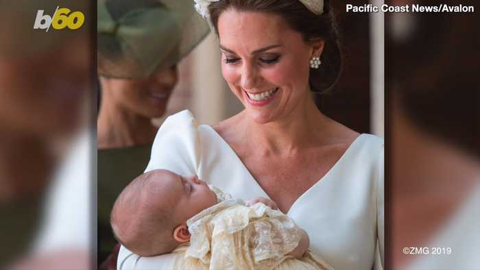 Kate Middleton Reportedly Overheard Bragging About Prince Louis's Crawling Prowess