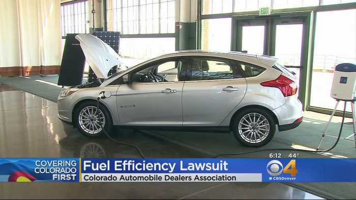 Lawsuit Filed By Colorado Auto Dealers Over Electric Cars, Fuel Standards