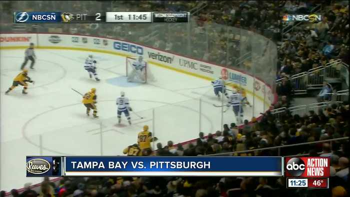 Pittsburgh Penguins jump out to early lead to top Tampa Bay Lightning 4-2