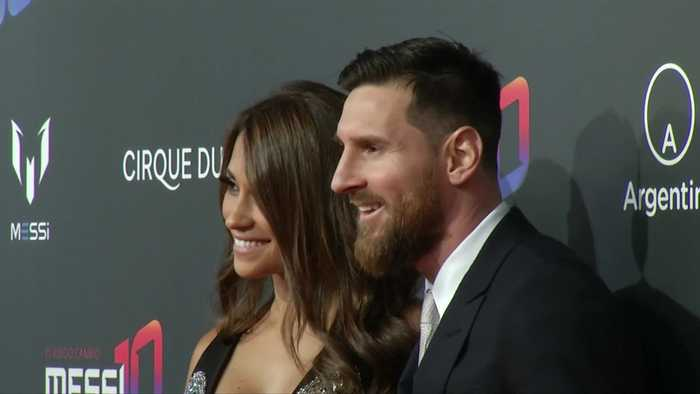 Messi walks red carpet for Cirque du Soleil show inspired by his career