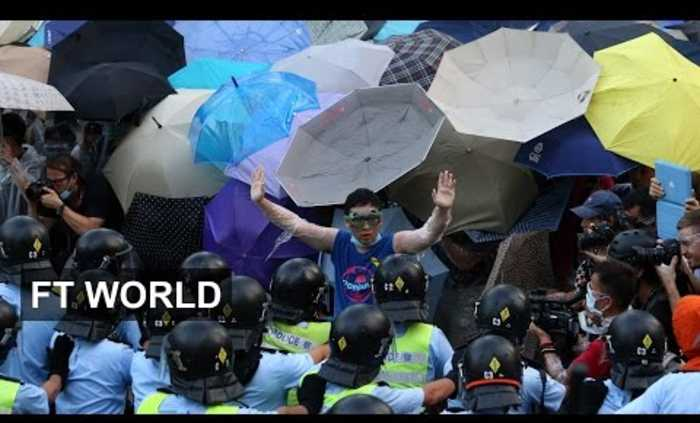 Hong Kong Protest 2: Students out in force | FT World
