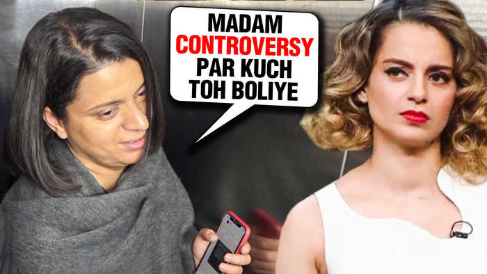 Kangana Ranaut Sister RANGOLI AVOIDS Media After Exposing Messages With Krish