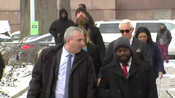 Gag order looms as Roger Stone arrives at court