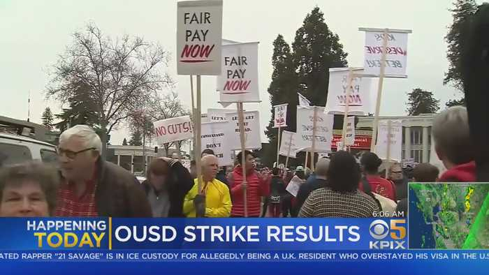 Results Of Oakland Teachers' Strike Vote To Be Announced Monday Afternoon