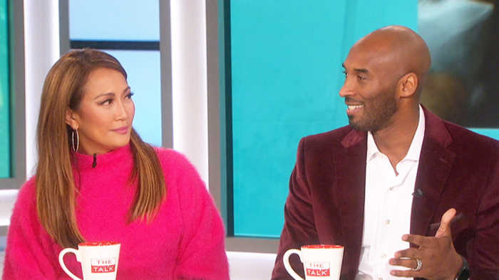 The Talk - Kobe Bryant on Tracy Wolfson Fighting For Tom Brady Post Super Bowl Interview