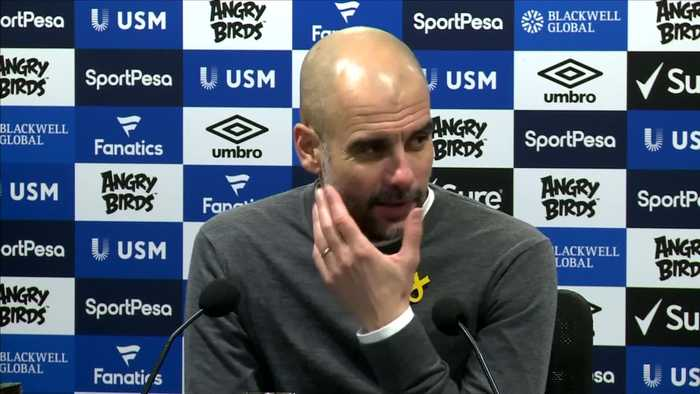 Guardiola's City tops league but now face 'big bull' of Chelsea