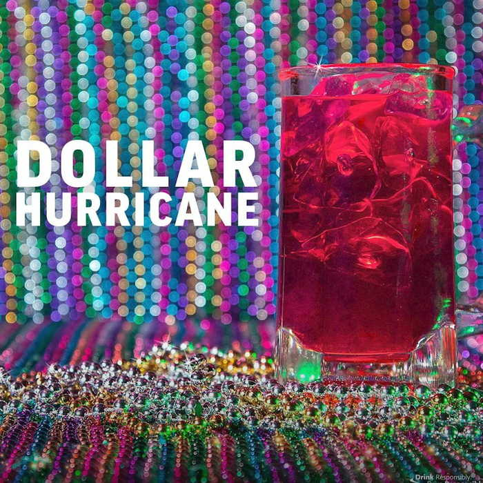 Applebee's Serving New Dollar Hurricanes to Kick Off Mardi Gras