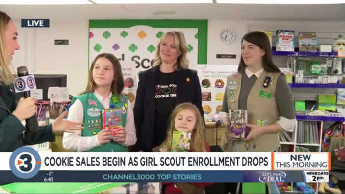 Girl Scout cookie-selling season is right around the corner