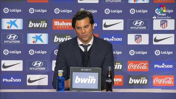 Solari thrilled with Madrid derby victory over Atletico
