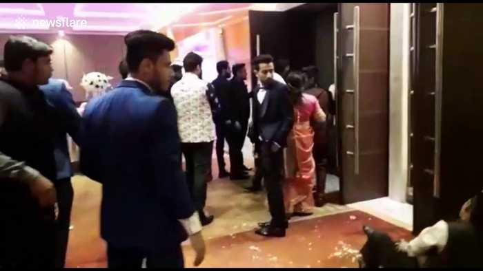 Drunk guests at Indian wedding run riot at 5-star hotel over cold food