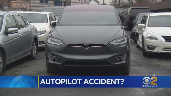 Driver Says Tesla Autopilot Caused Him To Crash