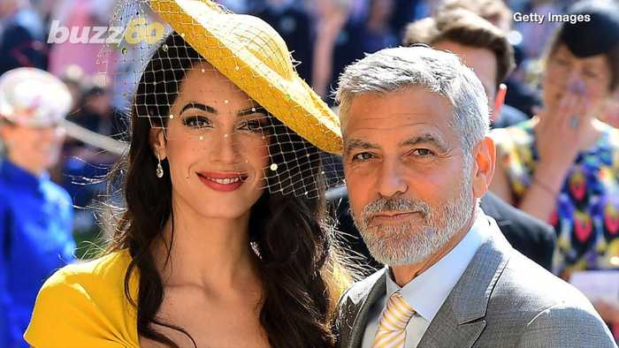 George Clooney Says Meghan Markle is Being 'Pursued and Vilified' in the Media Like Princess Diana