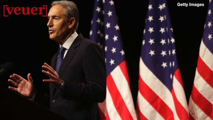 Howard Schultz on If He Runs and Polls Show He is Helping Trump, Will He Drop Out of the Race?
