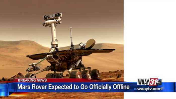 Mars Rover Expected to Go Officially Offline