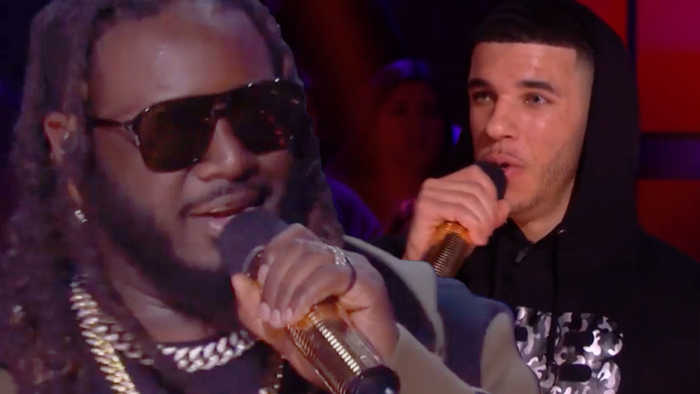 Lonzo Ball Gets TRASHED and HUMILIATED In Rap Battle Against T-Pain