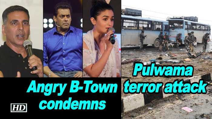 Pulwama terror attack: Angry B-Town condemns this 'cowardly' act