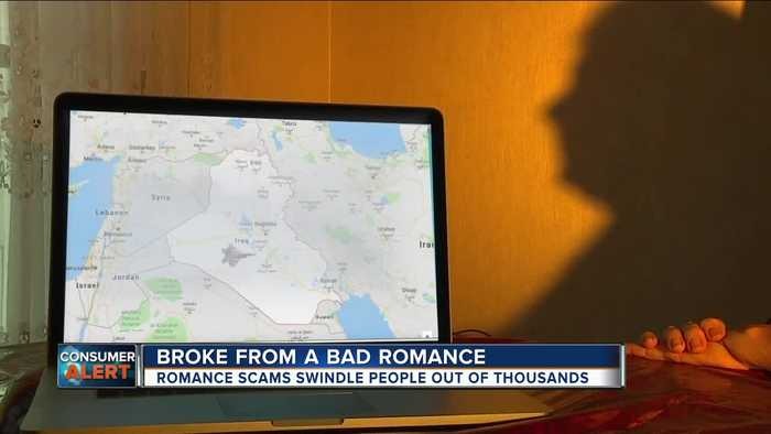Number of online dating scams are rising, one woman lost $40,000